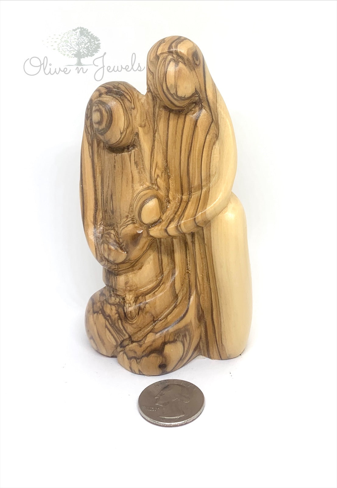 Faceless Holy Family Kneeling