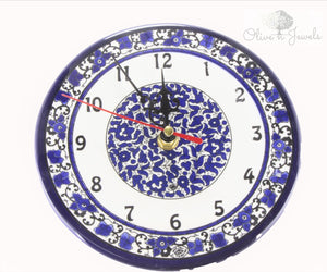 Hand Painted Ceramic Clock