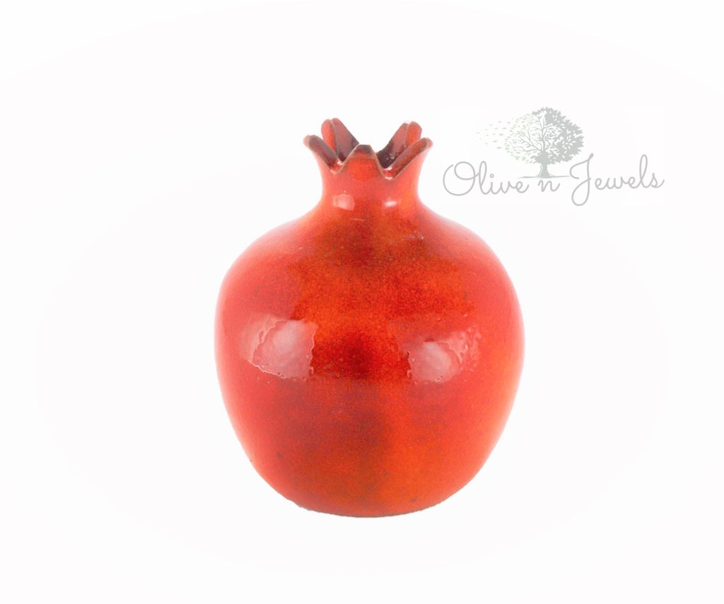 Hand Painted Pomegranate Ceramic