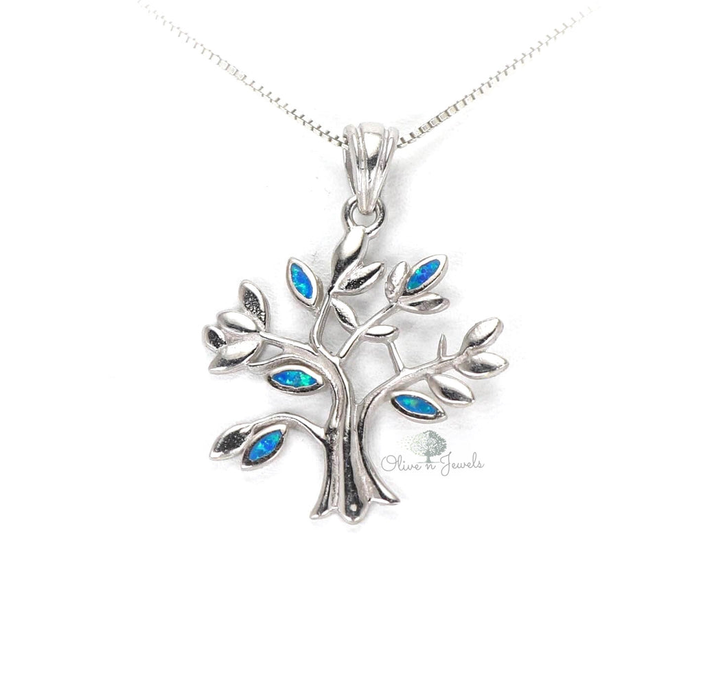 Tree Of Life Opal Pendant