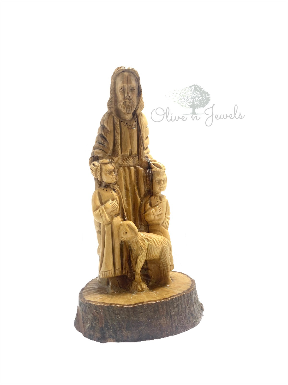 Jesus & The Children Carving