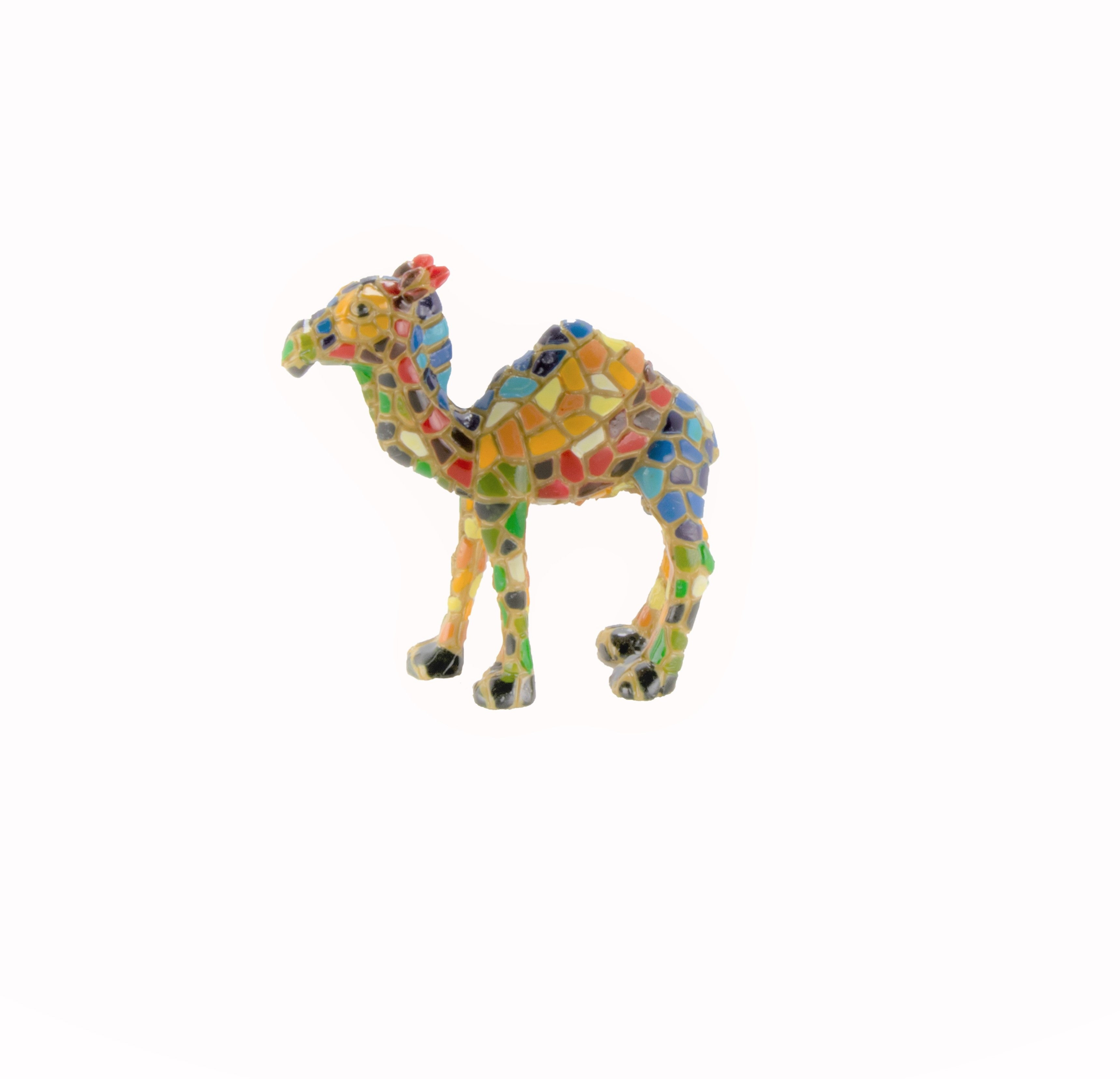 Hand Painted Mosaic Camel