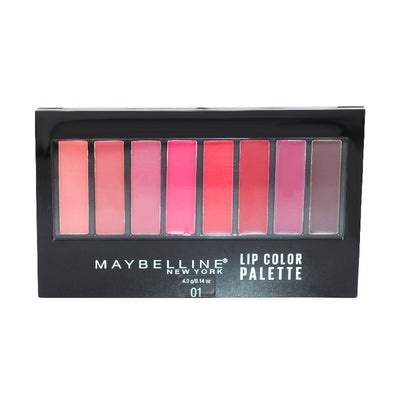 Maquillage palette rouges à lèvres Lip Color de Maybelline