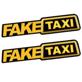 'Fake Taxi' Auto-Sticker