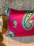 Big Paisley Print Cushion