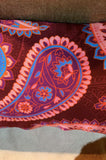 Silk Paisley Cushion