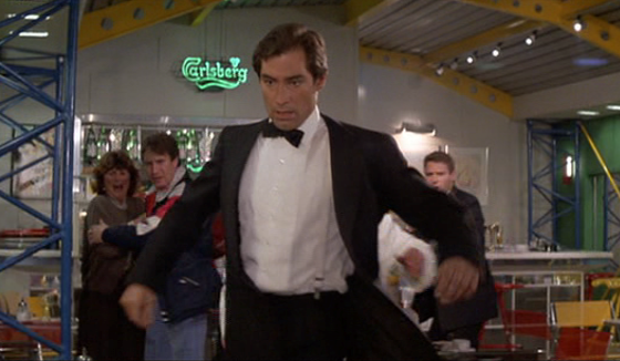 Timothy Dalton in James Bond