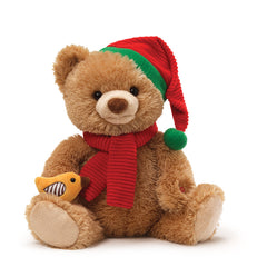 Caroling Bear Animated