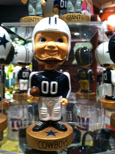 Dallas Cowboys Legacy Bobblehead Figurine