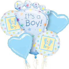 It's a Baby Boy Balloon Bouquet