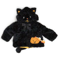 "Halloween Black Cat 20"" Infant Coat"