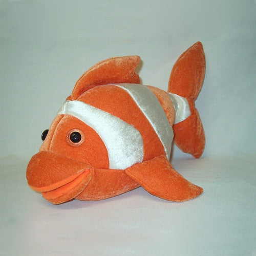Claudia, the Clown Fish Puppet