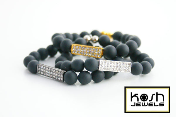 KRISTALA ID SIGNATURE BEADED BRACELET - 3 COLORS