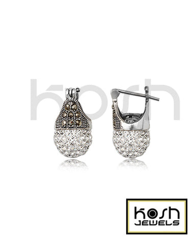 kosh VINTAGE DROP EARRINGS 8mm