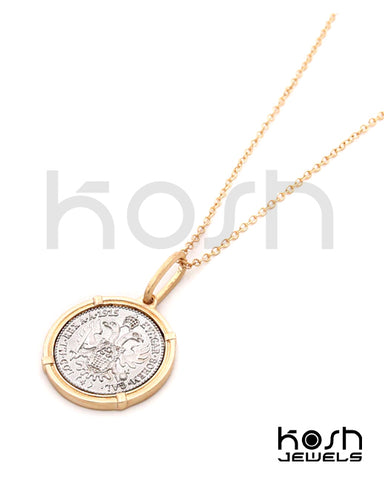 COIN PENDANT NECKLACE (long) - BOHÈME