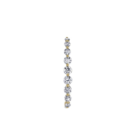 CELESTE BAR EAR CUFF - STERLING SILVER