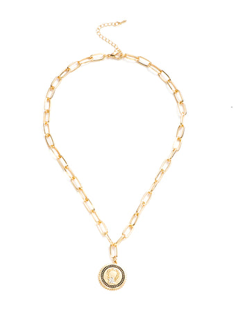 COIN CHOKER NECKLACE - OUM