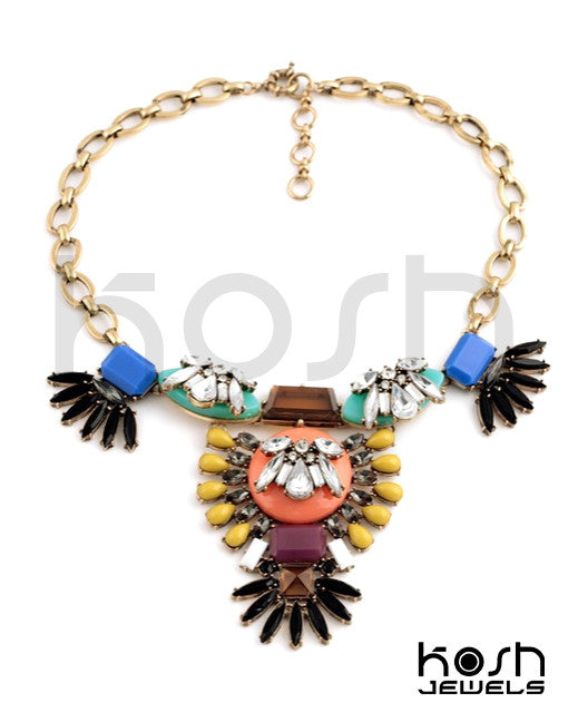DAHLIA STATEMENT NECKLACE
