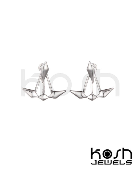 CRANE JACKET & STUD EARRINGS