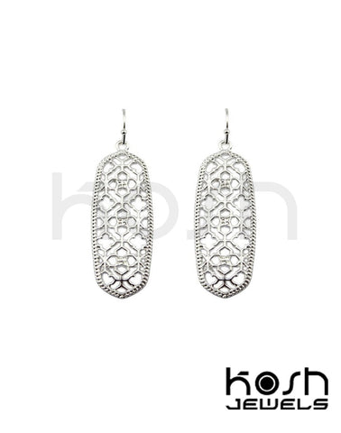 KENDRA FILIGREE EARRINGS