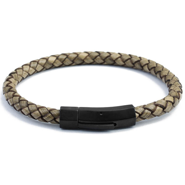 JONAS BRAIDED LEATHER BRACELET