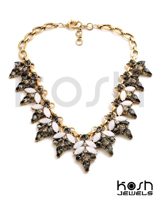 ENCHANTED BLOOM STATEMENT NECKLACE