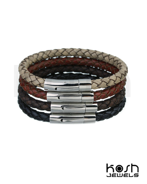 MATTEUS BRAIDED LEATHER BRACELET