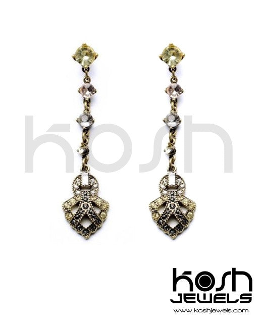 ELIZABETH DROP EARRINGS