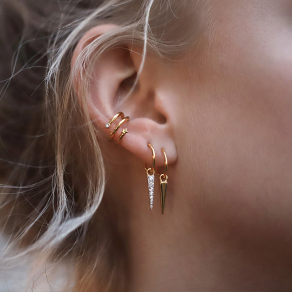 STARSTRUCK EAR CUFF SET (3 PCS)