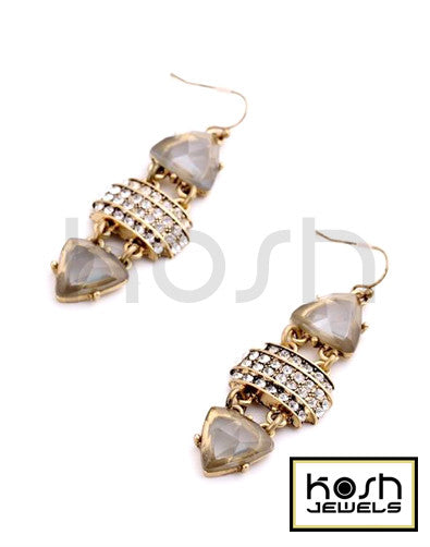 VINTAGE LUXE DROP EARRINGS