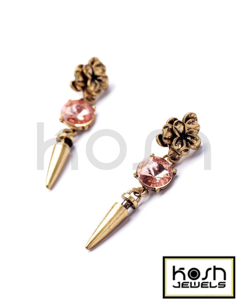 VINTAGE BLOOM DROP EARRINGS