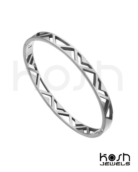 CHEVRON BANGLE