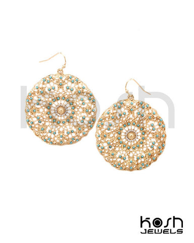 KRISTALA FILIGREE EARRINGS