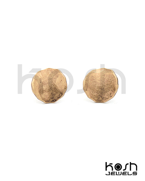 FREEDOM STUD EARRINGS - ROUND