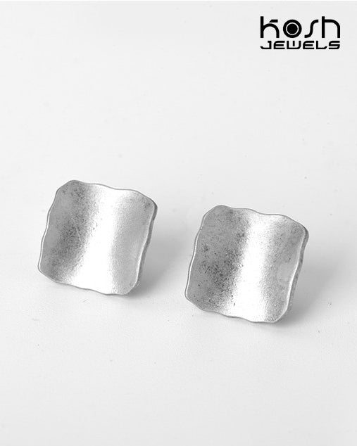 FREEDOM STUD EARRINGS - SQUARE