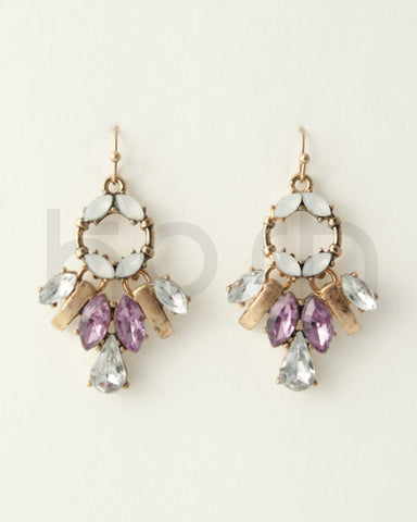 LILAC BLOOM EARRINGS