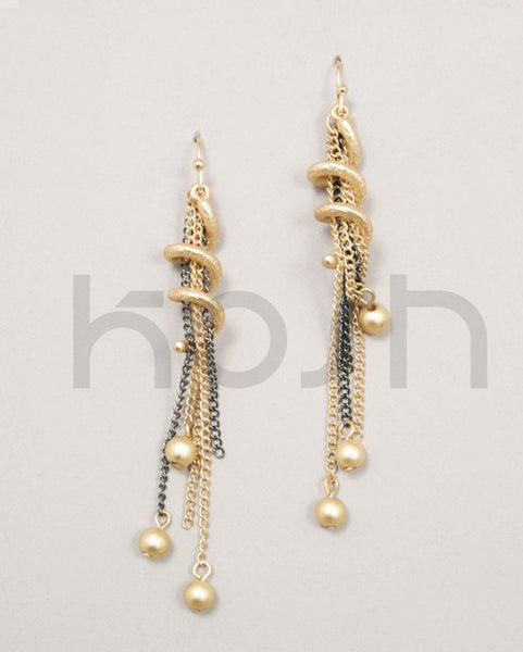 kosh TASSEL BEAD EARRINGS