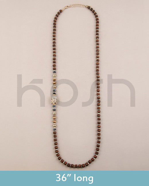 BUDDHA BEAD NECKLACE