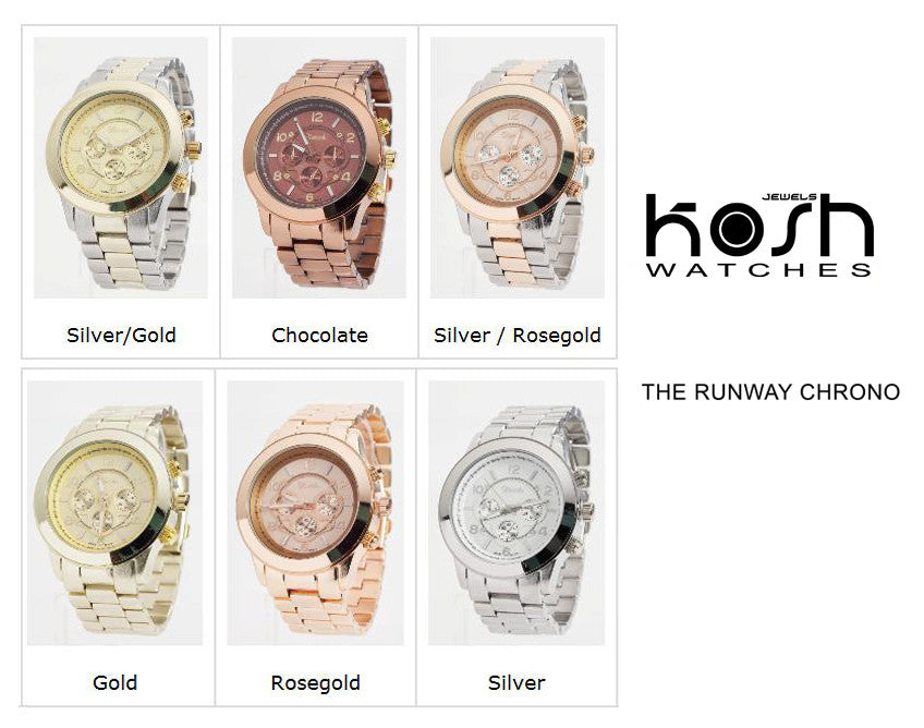 THE RUNWAY CHRONO