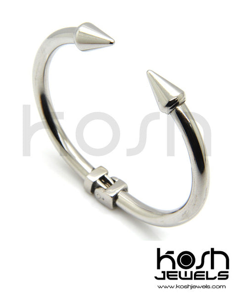 STEEL 'SPIKE' Bangle