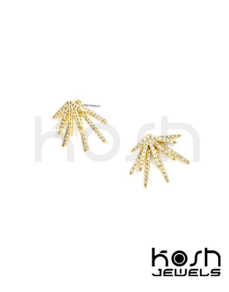 LIA JACKET & STUD EARRINGS