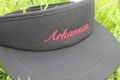University of Arkansas Visor - Black