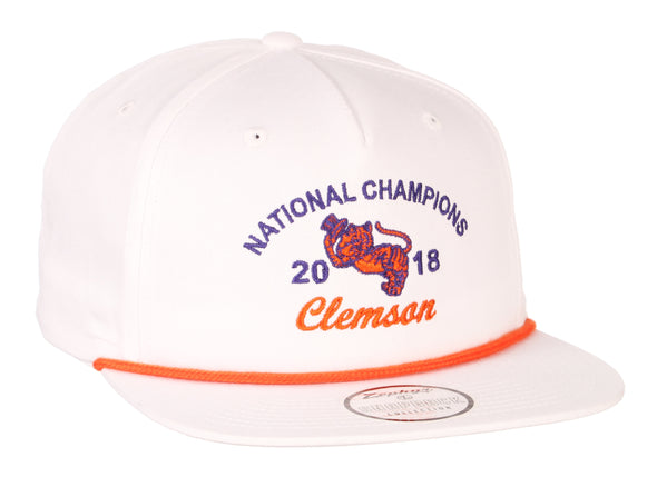 Clemson University Classic Gentleman's Tiger 2018 National Championship Hat