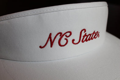 North Carolina State University Script Visor