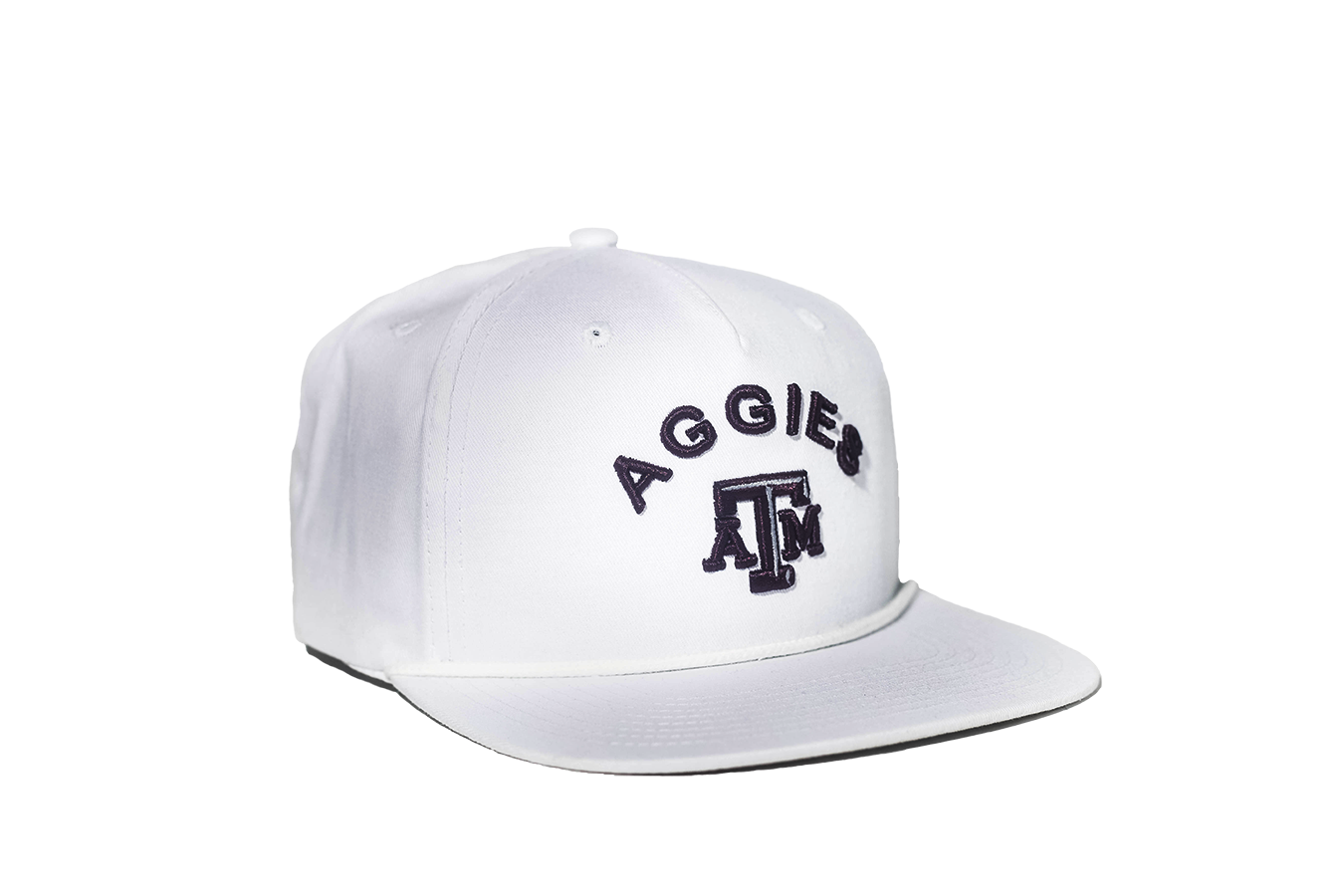 98b8a5ee7144 Texas A M University Classic Retro Snapback Hat - White – The Collegiate  Player
