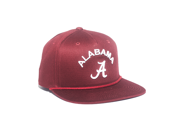 University of Alabama Classic Retro Snapback Hat – Crimson