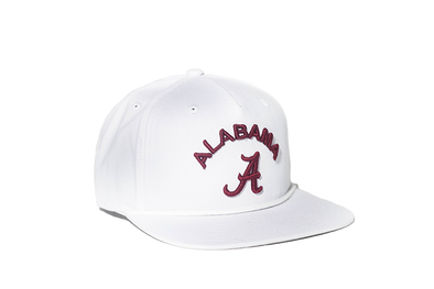 University of Alabama Classic Retro Snapback Hat - White