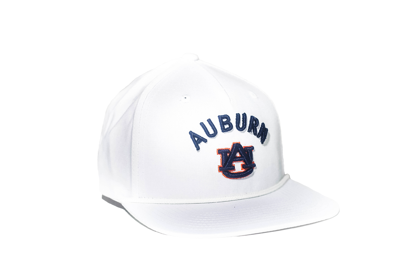 bc8268ee8550 Auburn University Classic Retro Snapback Hat - White – The ...