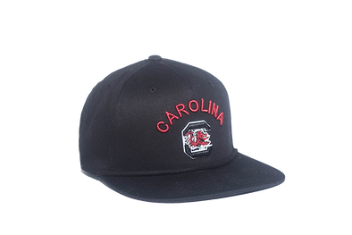 University of South Carolina Classic Retro Snapback Hat – Black