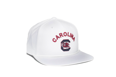 University of South Carolina Classic Retro Snapback Hat - White